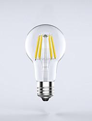 1 pcs  E26/E27  8W 8COB 750 lm Warm White A60(A19) edison Vintage LED Filament Bulbs AC 85-265 V