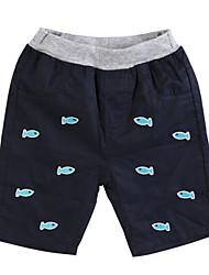 Katoen-Zomer-Boy's-Short
