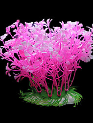 Оформление аквариума Орнаменты / Водное растение Искусственная Пластик