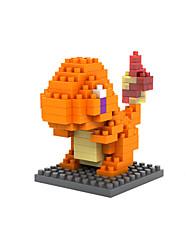 оранжевый ABS Строительные блоки DIY игрушки