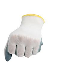 jardin gants blancs