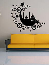 Landscape wall decals Shapes / Transportation Wall Stickers Plane Wall Stickers for home decor,vinyl 48*57cm