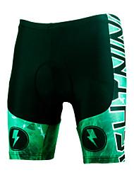 ILPALADINO Pantalones Acolchados de Ciclismo Hombres Unisex Bicicleta Pantalones Cortos Acolchados Shorts/Malla cortaTranspirable Secado