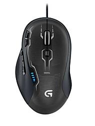 logitech originales g500s fps ratón láser de juegos 8200 dpi con cable teclas macro del ratón 9