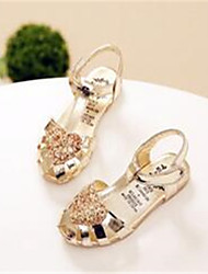 Girls' Shoes Casual Comfort Tulle Sandals Gold