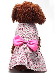 Beautiful Bowknot Pet Dress