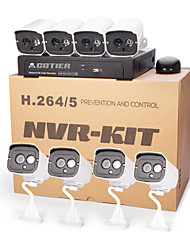 Cotier® POE 8CH NVR Kits 720P/Mini/P2P/H.264/IP Camera N8B7/Kit-POE