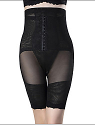 Shaperdiva Women's High Waist Thigh Slimmer Shaperwear Tummy Control Body Shaper