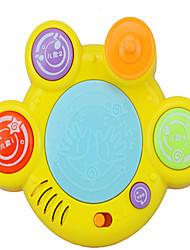 Plástico Amarillo yes juguete música Caja de música
