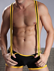 Homme Sexy / Push-up Couleur PleineNylon / Polyester