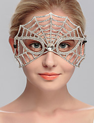Women's Rhinestone Headpiece-Wedding Special Occasion Casual Office & Career Outdoor Masks 1 Piece