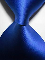 Cravatta legata da uomo di tessuto jacquard reale