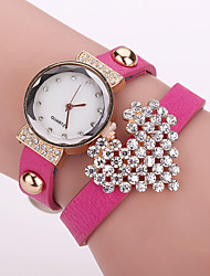 Xu™ Ladies' Fashion Heart-shaped Diamonds Bracelet Quartz Watch