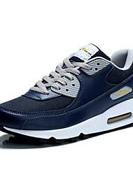 Scarpe Sneakers Da uomo Pelliccia sintetica Nero / Blu / Bianco