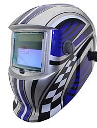 ferramentas de soldadura de prata energia solar auto escurecimento li bateria tig mma mig máscara de solda / Capacetes / cap / óculos /