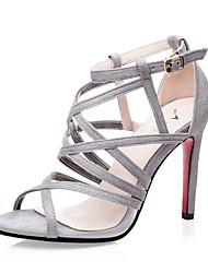 Women's Shoes Suede Stiletto Heel Heels / Peep Toe / Gladiator / Open Toe Sandals Dress More Colors Available