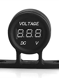 12V Universal Car Truck Voltmeter Voltage Volt Meter Gauge New