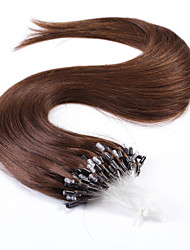 Neitsi® 20inch Micro Ring Loops Human Hair Extensions Rings Human Hair 4#