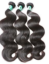 "3Pcs/Lot 8""-30"" Virgin Indian Hair Body Wave Human Hair Weaves"