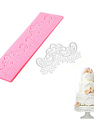 Silicone Flower Lace Mold Cake Fondant Mould MatSugar Craft DIY Decorating