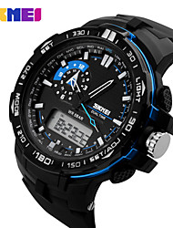 Sports Watch Men's / Unisex Calendar / Chronograph / Water Resistant / Dual Time Zones / Sport Watch Digital Digital