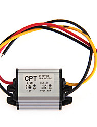dc - dc convertisseur inverseur 12v 2a - 9v voiture transformateur de tension