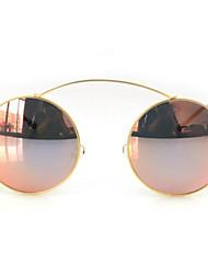 Gafas de Sol mujeres's Modern / Moda Redondo Blanco / Amarillo / Dorado / Rojo / Morado / Verde Gafas de Sol Completo llanta