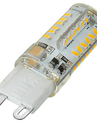 5W G9 Luces LED de Doble Pin Luces Empotradas 58 SMD 3014 400-500 lm Blanco Cálido / Blanco Fresco Regulable / Decorativa AC 100-240 V1