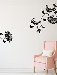 Romance / De moda / Florales Pegatinas de pared Calcomanías de Aviones para Pared,PVC S:87*48cm / M:146*82cm/ L:188*105cm