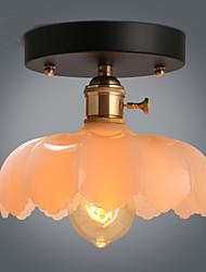 New Flush Mount Retro Lighting Bar Restaurant Lights Personality Living Room Clothing Store Glass Ceiling Lamp