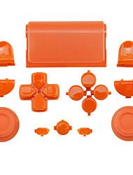 le boîtier du contrôleur de remplacement pour le contrôleur ps4 cas de ps4 orange / violet / rose