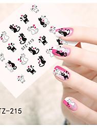 1pcs  Water Transfer Nail Art Stickers  Flower Cartoon Mickey Nail Art Design STZ211-220