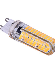 12W E14 / G9 / G4 / BA15D Luci LED Bi-pin T 80 SMD 5730 1200 lm Bianco caldo / Luce fredda Intensità regolabile / DecorativoAC 220-240 /