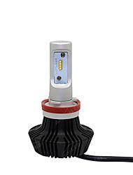 2pcs nuevos 8pcs llevó la linterna / H3 / H7 / H8 / H9 / 9005/9006/9012 4000lm diseño H1 / H10 / H11 / H16 mejor refrigeración