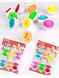 Kids Learning Educational Toys Mixed Shape Wise Pretend Puzzle Smart Egg Baby Kid Learning toy