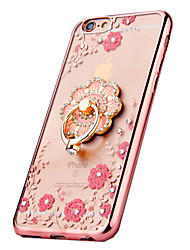 Luxury Mirror plating flowers Body Case for iphone5/5s