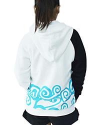 Inspired by Gintama Gintoki Sakata Anime Cosplay Costumes Cosplay Hoodies Print White Long Sleeve Coat