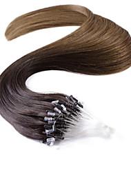 neitsi® 20inch micro anneau boucles extensions de cheveux humains sonne T2-8 de cheveux humains