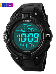 Sports Watch Men's LCD / Calendar / Chronograph / Water Resistant / Dual Time Zones / Sport Watch Digital Digital