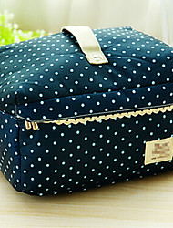 Portable Fabric Travel Storage/Packing Organizer for Making up  25*20*15cm