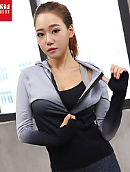 Yoga Tops Breathable / Quick Dry / Soft Stretchy Sports Wear Yoga / Pilates / Leisure Sports / Cycling/Bike / Running