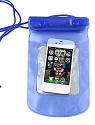 Waterproof Mobile Phone Bag Blue/Pink for 5.5 inch phone and 6.5 inch phone