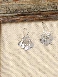 Earring Drop Earrings Jewelry Women Wedding / Party / Daily / Casual / Sports Alloy / Copper 1 pair Silver