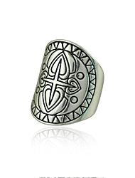 Ring Women's / Unisex Non Stone Alloy Alloy 19 SilverColor & Style representation may vary by monitor. Not responsible for typographical