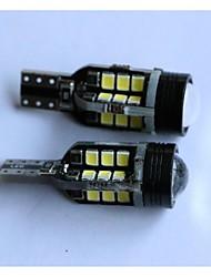 t15 2835-24smd + 1cree voiture tour feu de recul lampe blanche