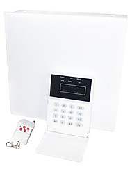 Alarm System with Intelligent Alarm Control Panel (8 Wired and 16 Wireless)