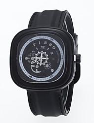 Herren Armbanduhr Quartz / Edelstahl Band Bequem Schwarz Marke