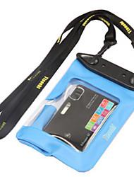Сухие боксы / Водонепроницаемые сумки Унисекс Чехлы для камер / Защита от влаги Подводное плавание и снорклинг Черный PVC
