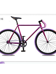 """motos artes tl ™ 700c fixa * 17 """"* 52 centímetros bicicleta bicicleta de estrada colorido da bicicleta 13 cores cidade bicicletas guiador"""