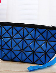 Portable PU Leather Travel Storage/Toiletry Bag for Making up  15*10*5cm